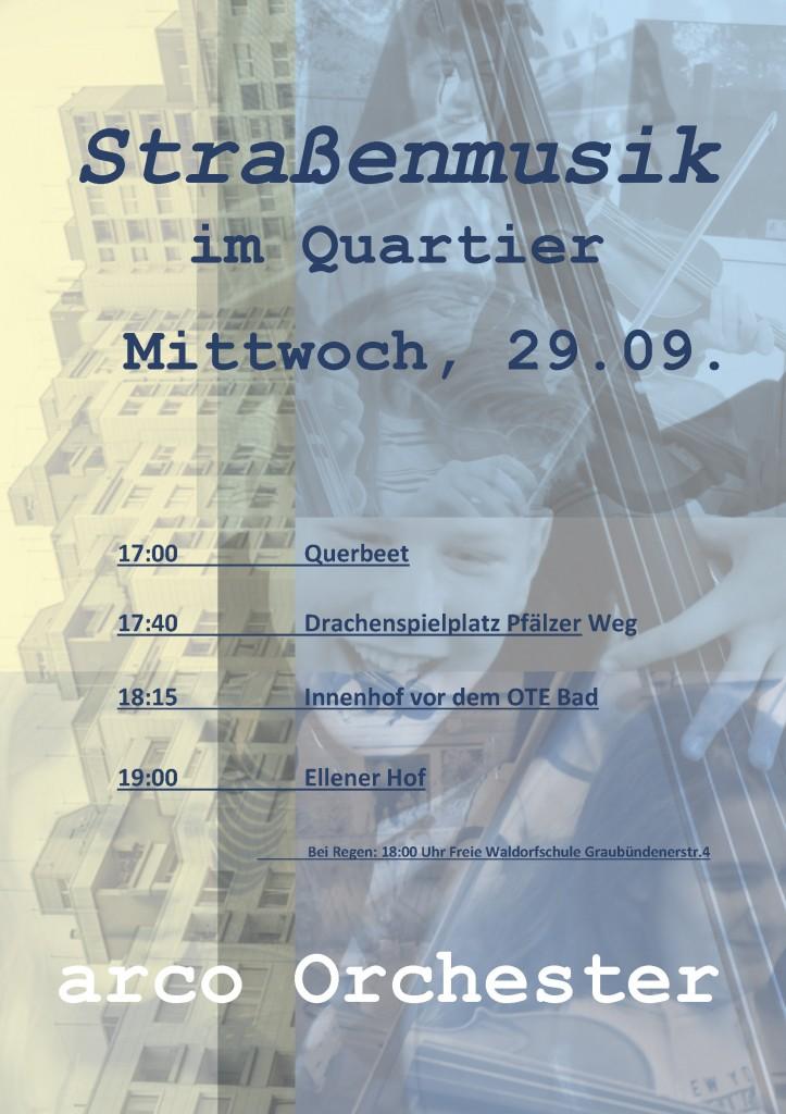Plakat Tenever Konzerte